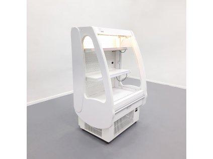 Přístěná chladící vitrína JUKA PICCOLI 90/70 bílá