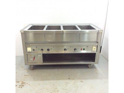 Ohřevná vana 4x GN 1/1 160x80x90 cm