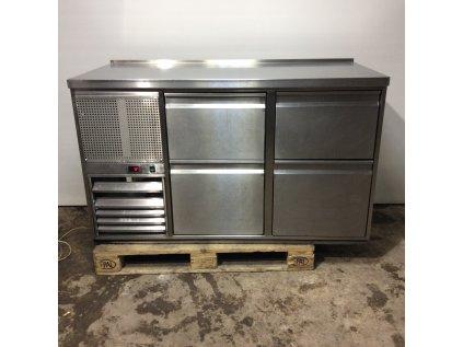chladící stůl 4x šuplík 150x70