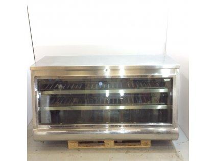 Chladící obslužná vitrína NEREZOVÁ 200x91x112