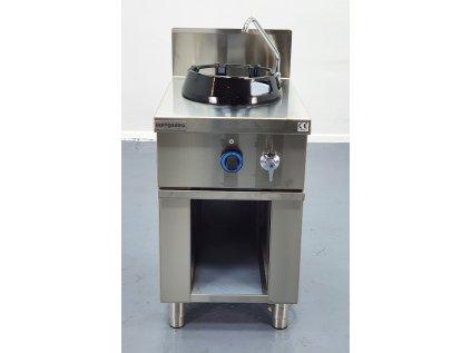 Sporák plynový wok s 1 plotýnkou - 14 kW
