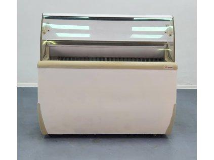 Vitrína na zmrzlinu 130x70x122 cm