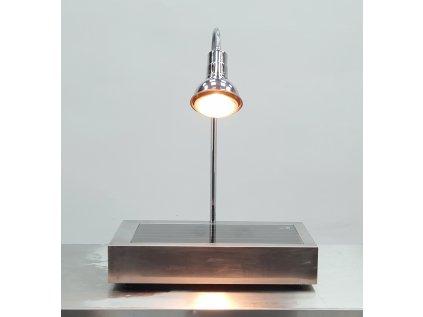 Ohřevná bufetová lampa s deskou  na potraviny 40x60x13 cm