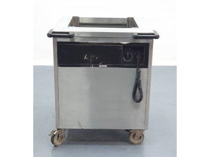 Ohřívač na talíře, zásobník na tácy 75x70x90 cm
