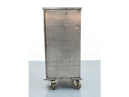 Nerezový box na kolečkách pro přepravu GN