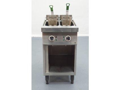 Elektrická fritéza 2x komora