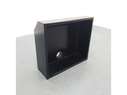 Designová digestoř-záklop černá 90x80x30 cm