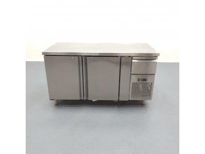 Chladící stůl 2x dveře vlevo 150x70x85 cm