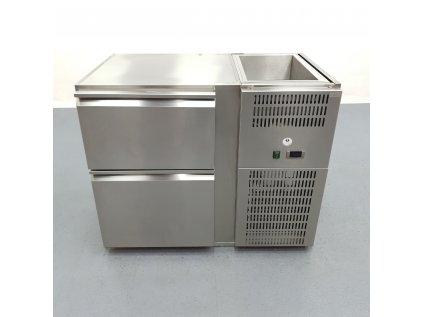Chladící stůl 2x šuplík 109x69x88 cm
