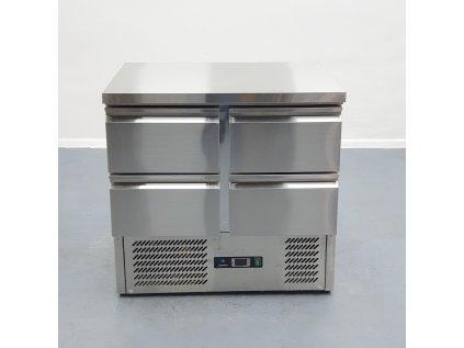 Chladící stůl HURAKAN HKN-GNL2TN-22  4x šuplík 90x70x85