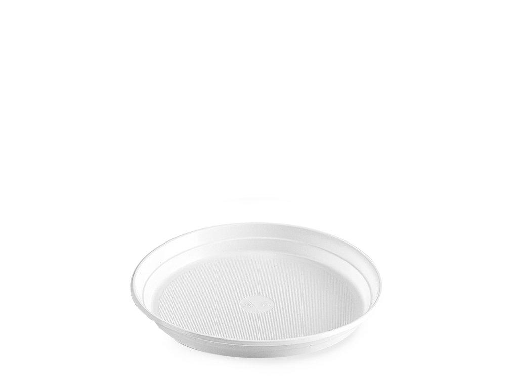 Talíř bílý (PS) Ø22cm