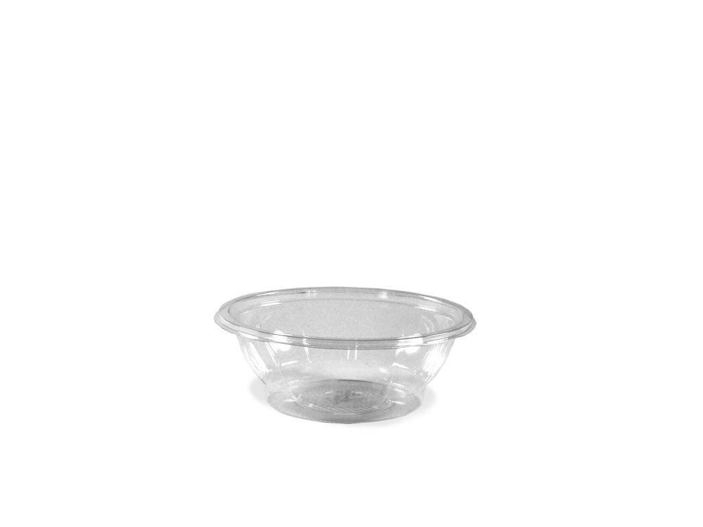Salátová miska průhledná 600ml (PET)