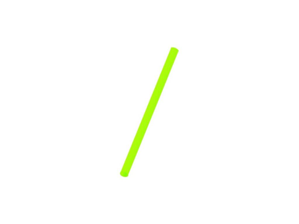 Slámky Jumbo zelené
