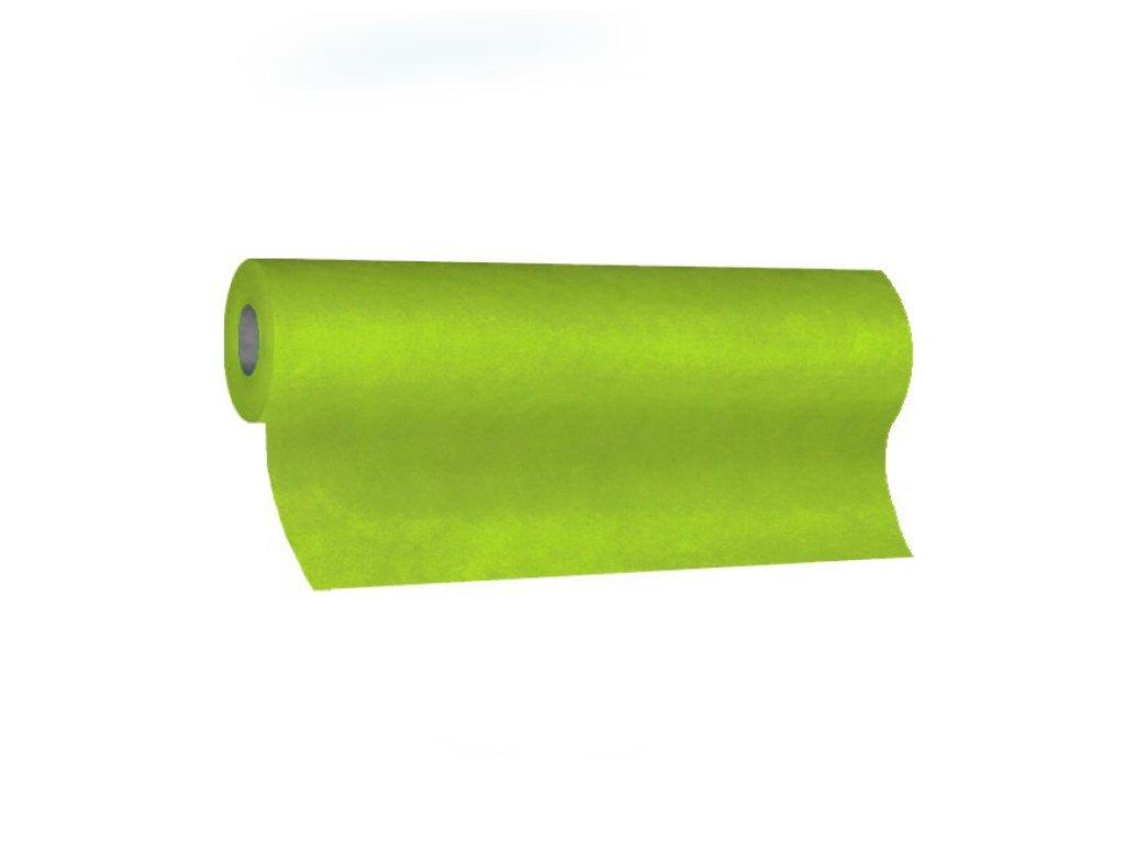 Středový pás PREMIUM 24m×40cm žlutozelený