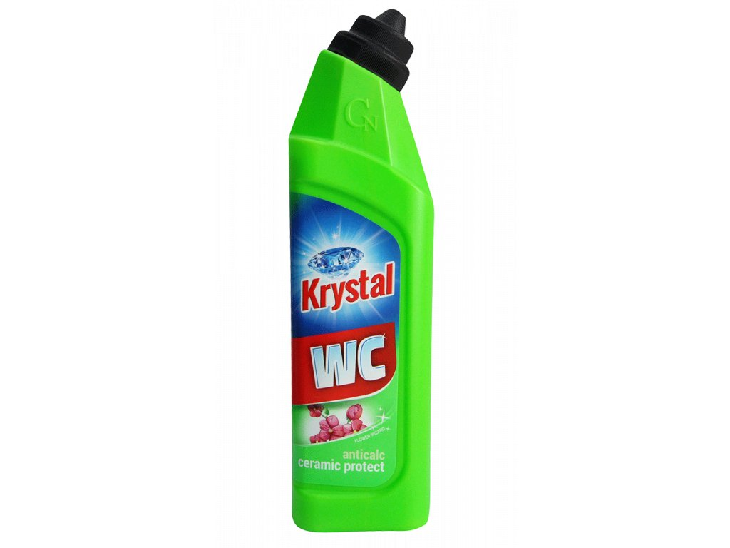 Krystal WC zeleny 750ml