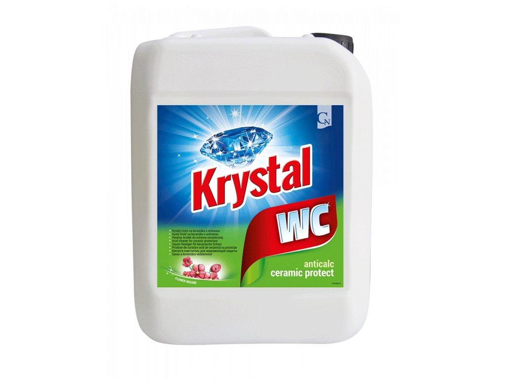 Krystal WC zeleny 5l