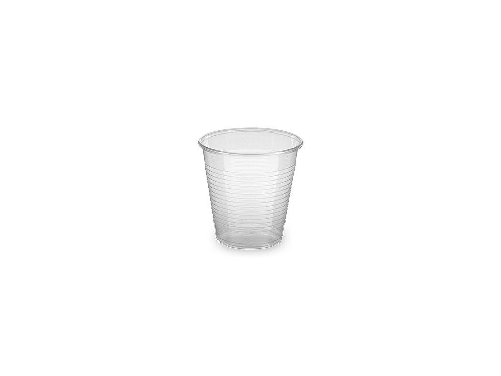 Kelímek průhledný 0,15 l -PP- (Ø 70 mm)