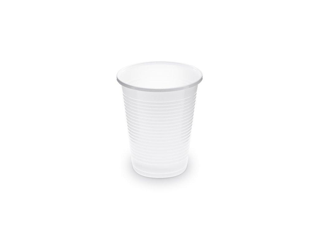 Kelímek bílý 0,18 l -PP- (Ø 70 mm)
