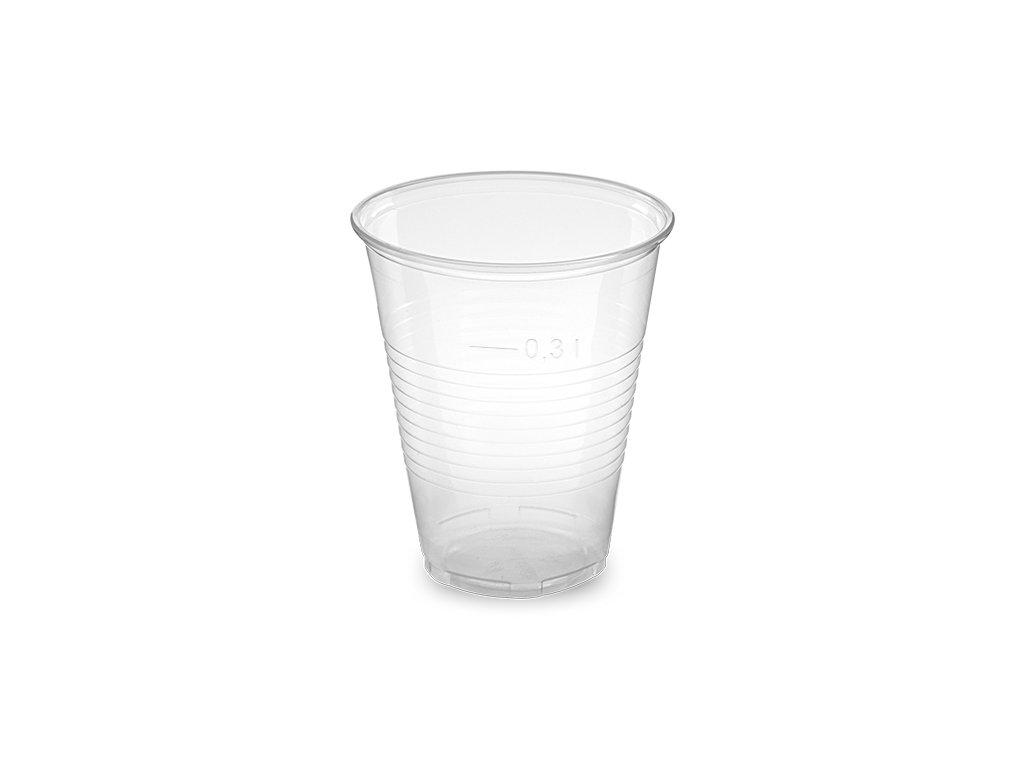 Kelímek průhledný 0,3 l -PP- (Ø 95 mm)