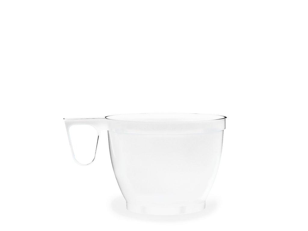 Šálek bílý s ouškem 0,18 l