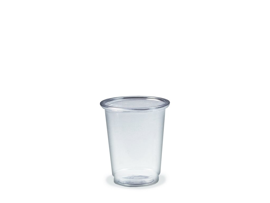 Kelímek čirý PET 2 cl / 4 cl / 5 cl (Ø 48 mm)