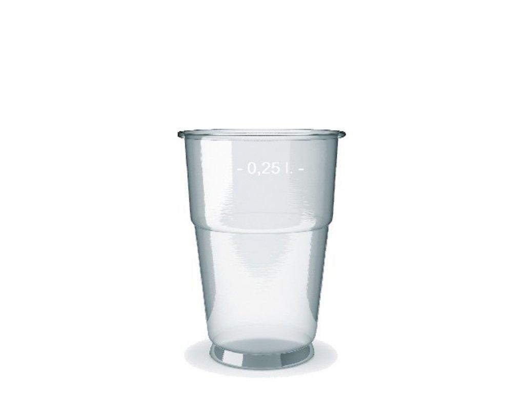 Kelímek z PET 0,25 l (Ø 78 mm)