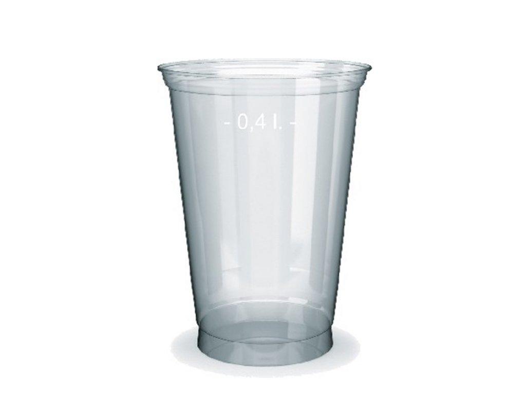 Kelímek z PET 0,4 l (Ø 95 mm)