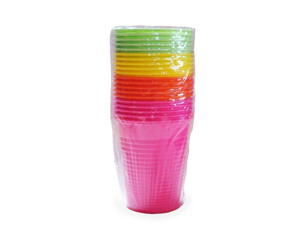 Kelímek barevný mix 0,18 l (PS)