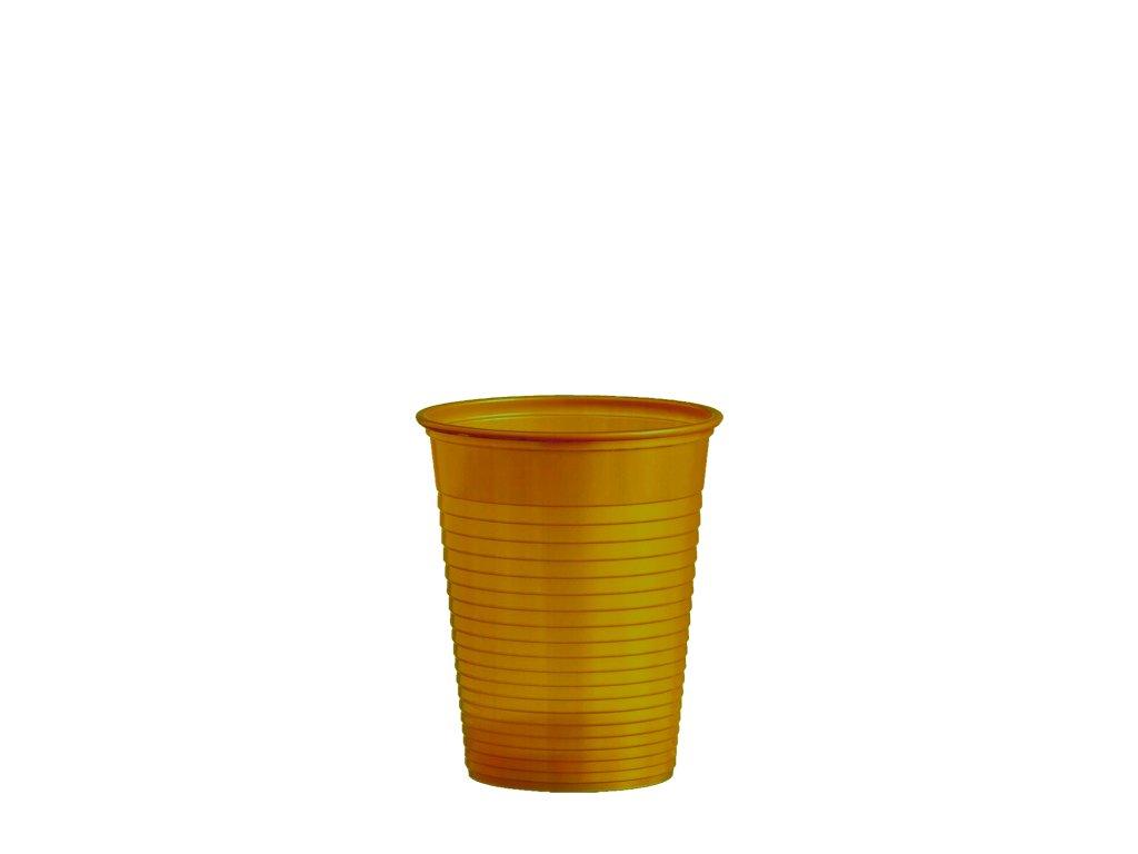 Kelímek zlatý 0,18 l -PS- (Ø 70 mm)