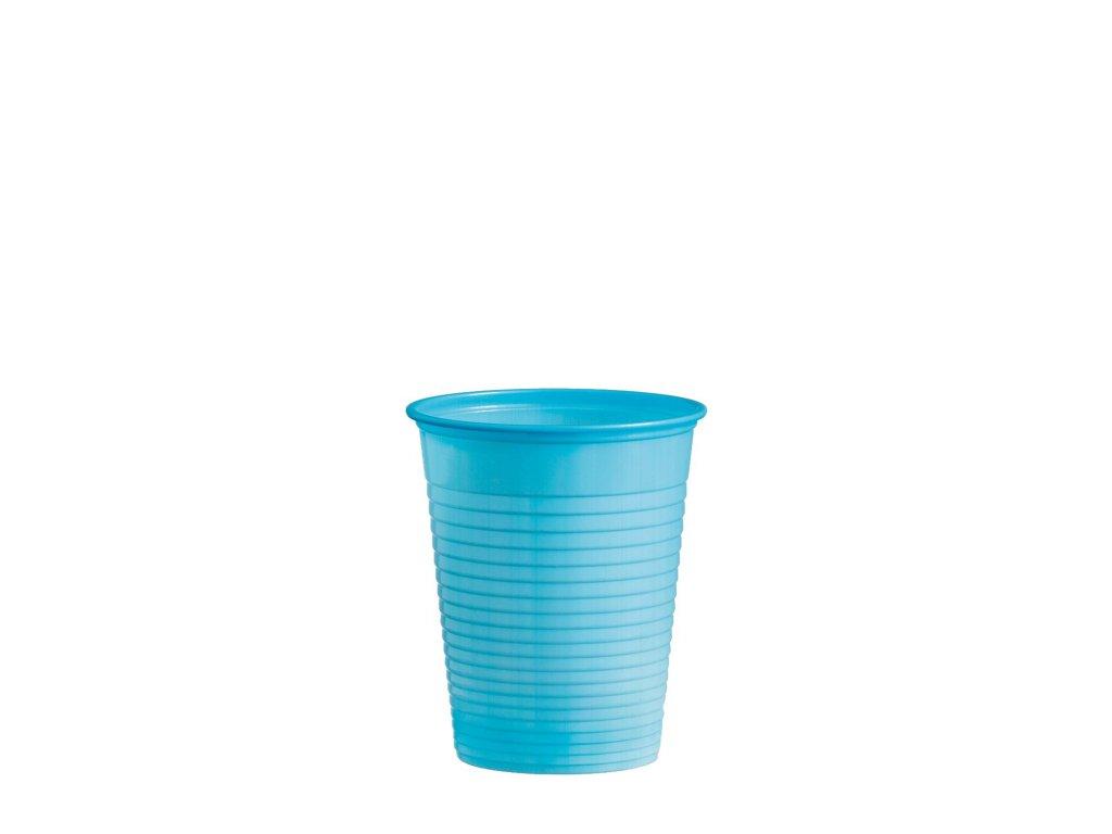 Kelímek světle modrý 0,18 l -PS- (Ø 70 mm)