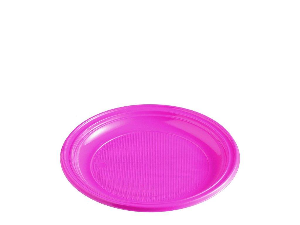 Talíř světle fialový (PS) Ø 22 cm