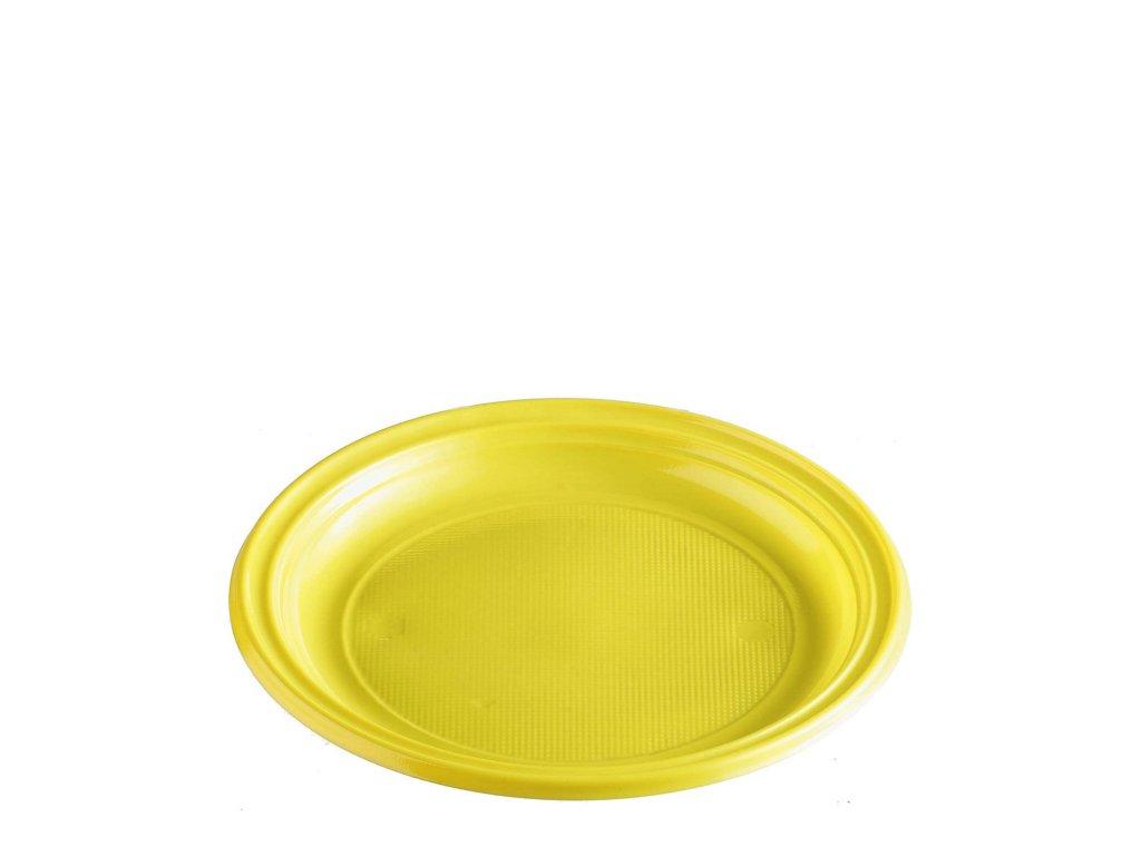 Talíř žlutý (PS) Ø 22 cm