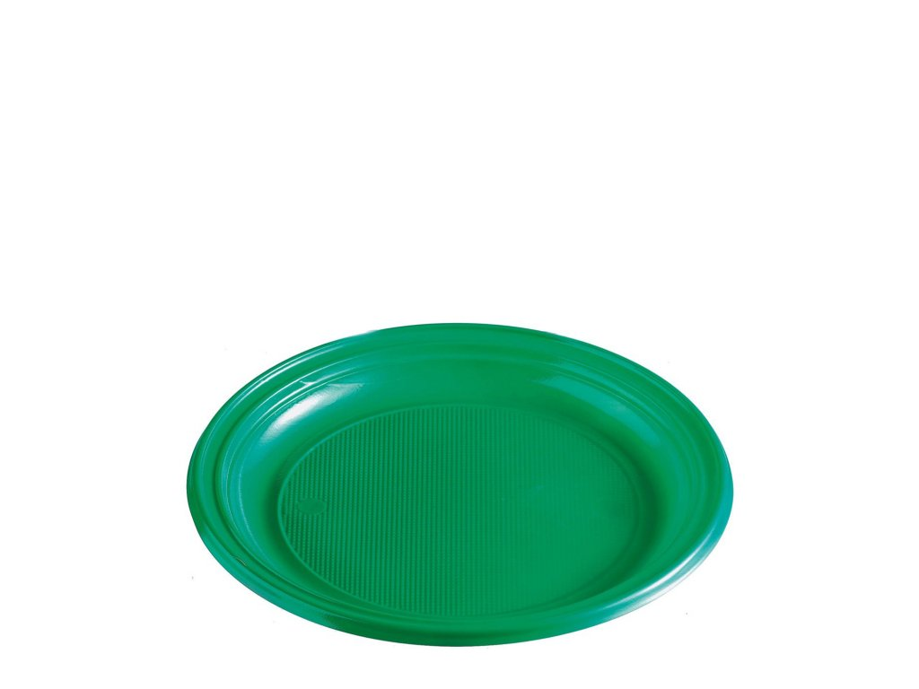 Talíř zelený (PS) Ø 22 cm