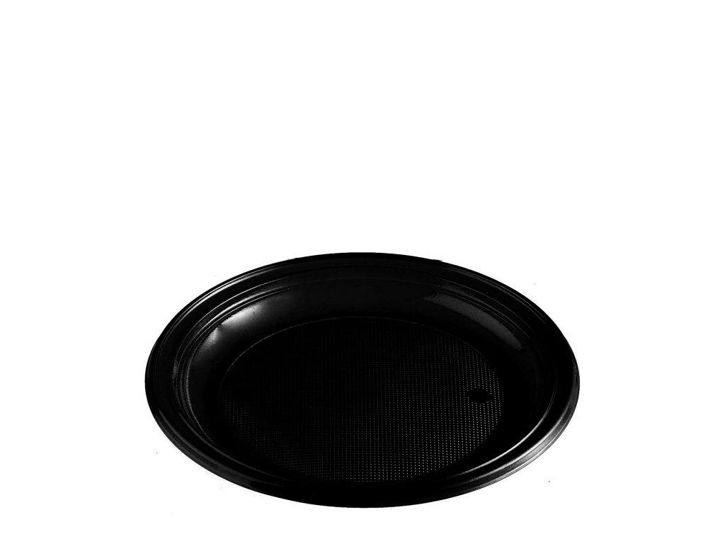 Talíř černý (PS) Ø 22 cm