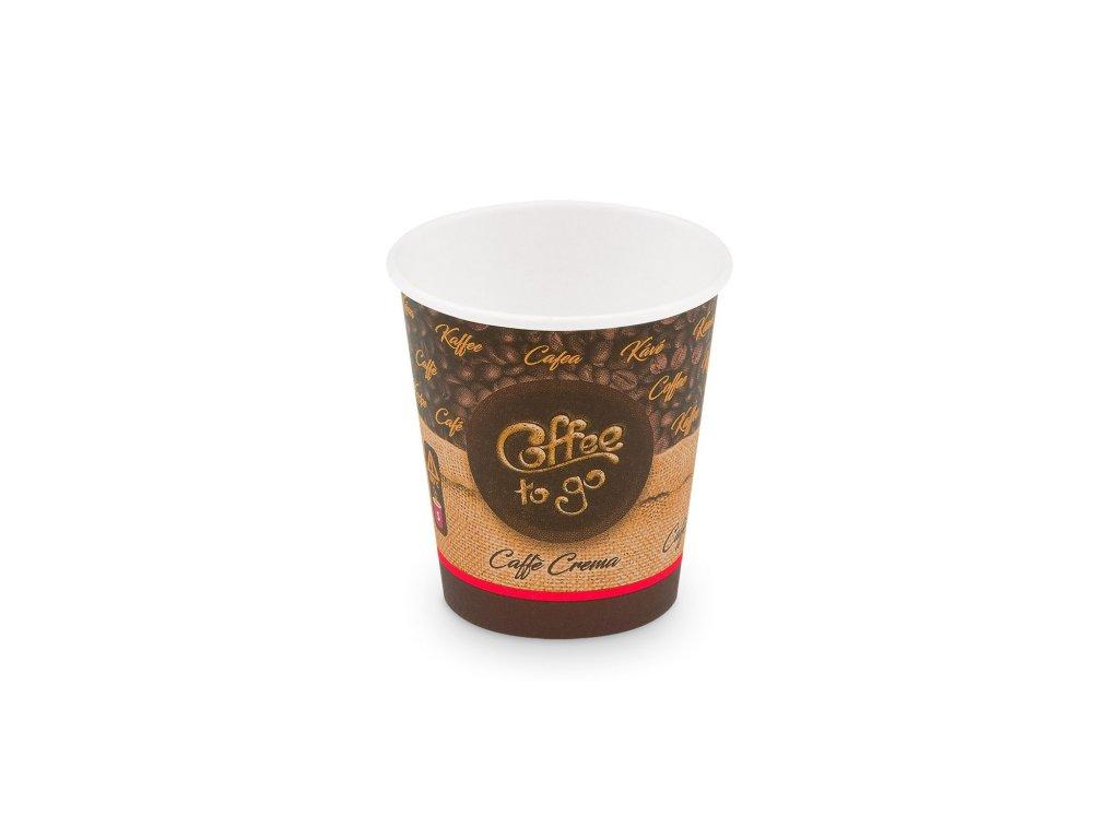 """Papírový kelímek """"Coffee to go"""" 200 ml, S (Ø 73 mm) [50 ks]"""