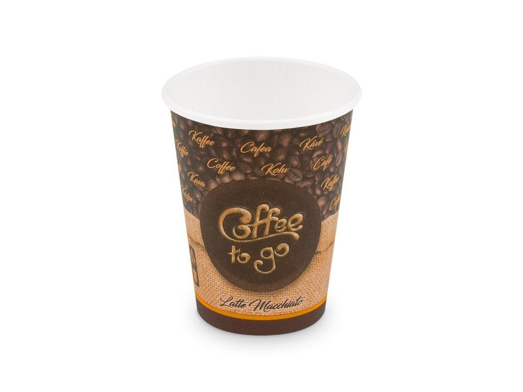 """Papírový kelímek """"Coffee to go"""" 420 ml, L (Ø 90 mm) [50 ks]"""