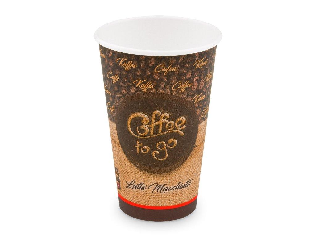"""Papírový kelímek """"Coffee to go"""" 510 ml, XL (Ø 90 mm) [50 ks]"""