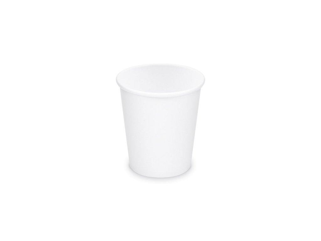 Papírový kelímek bílý 200 ml, S (Ø 73 mm) 50 ks