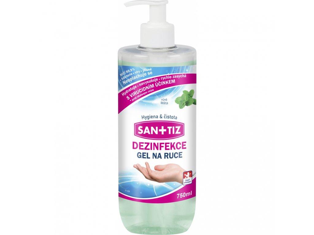 789125 sanitiz dezinfekcni gel na ruce 750 ml