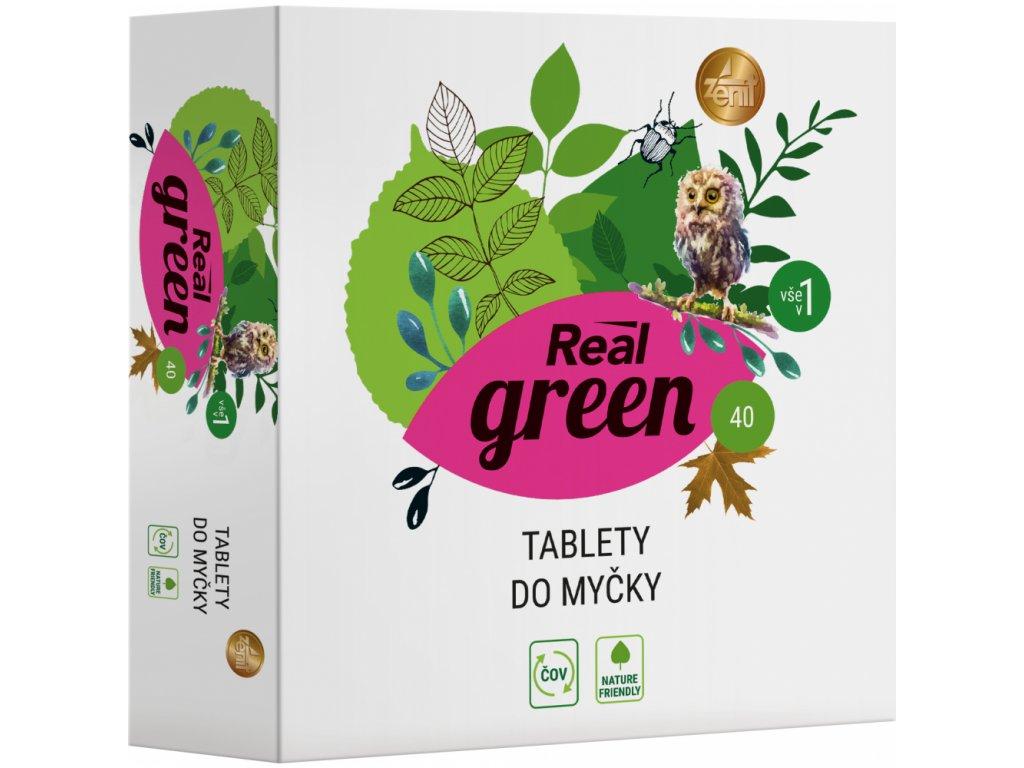 750112 real green clean tablety do mycky 40ks