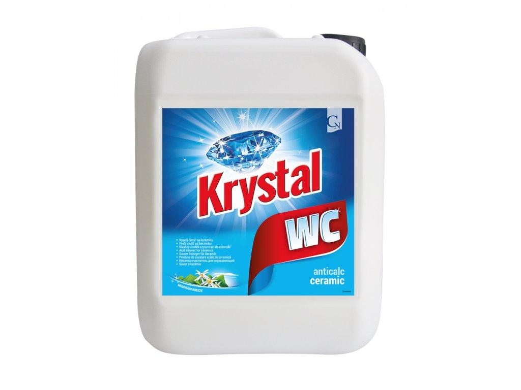 KRYSTAL WC kyselý na keramiku modrý 5 l