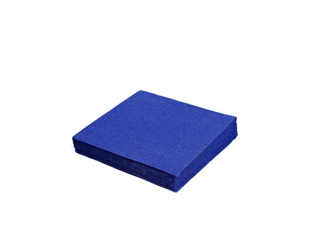 Ubrousky 3-vrstvé 40×40cm tmavě modré
