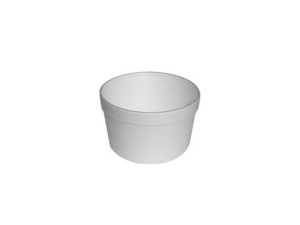 Termo miska kulatá bílá 460ml