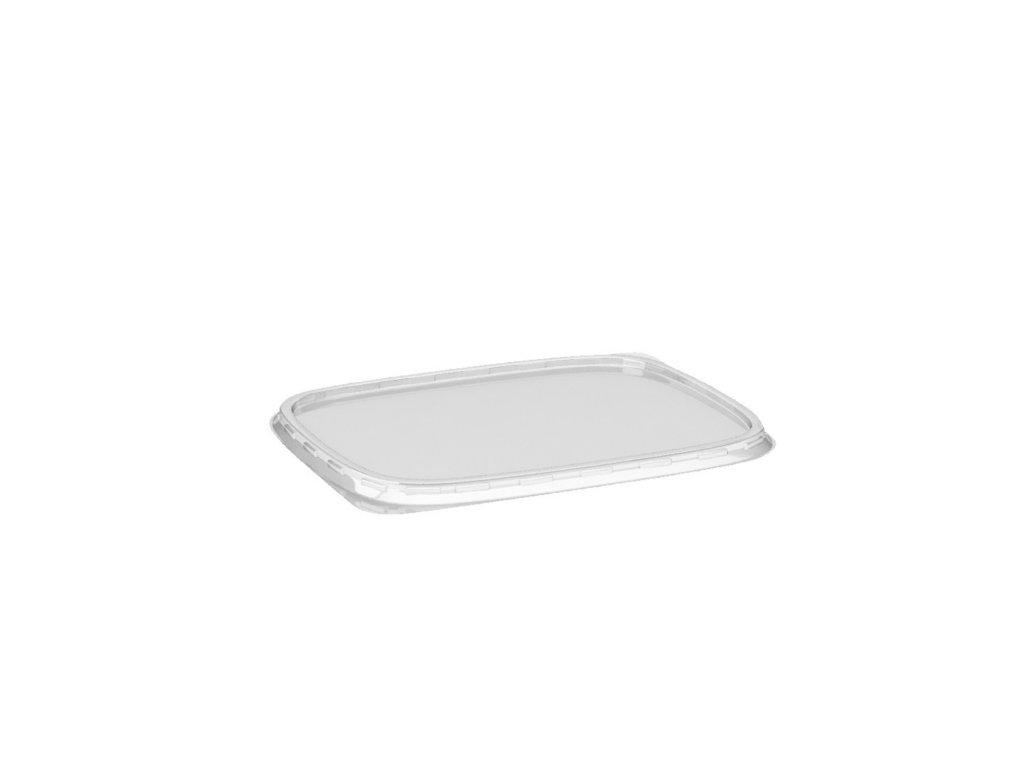 Víčko průhledné pro misky hranaté (PP)