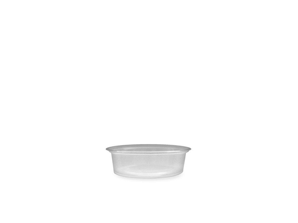 Dresinková miska průhledná 50ml