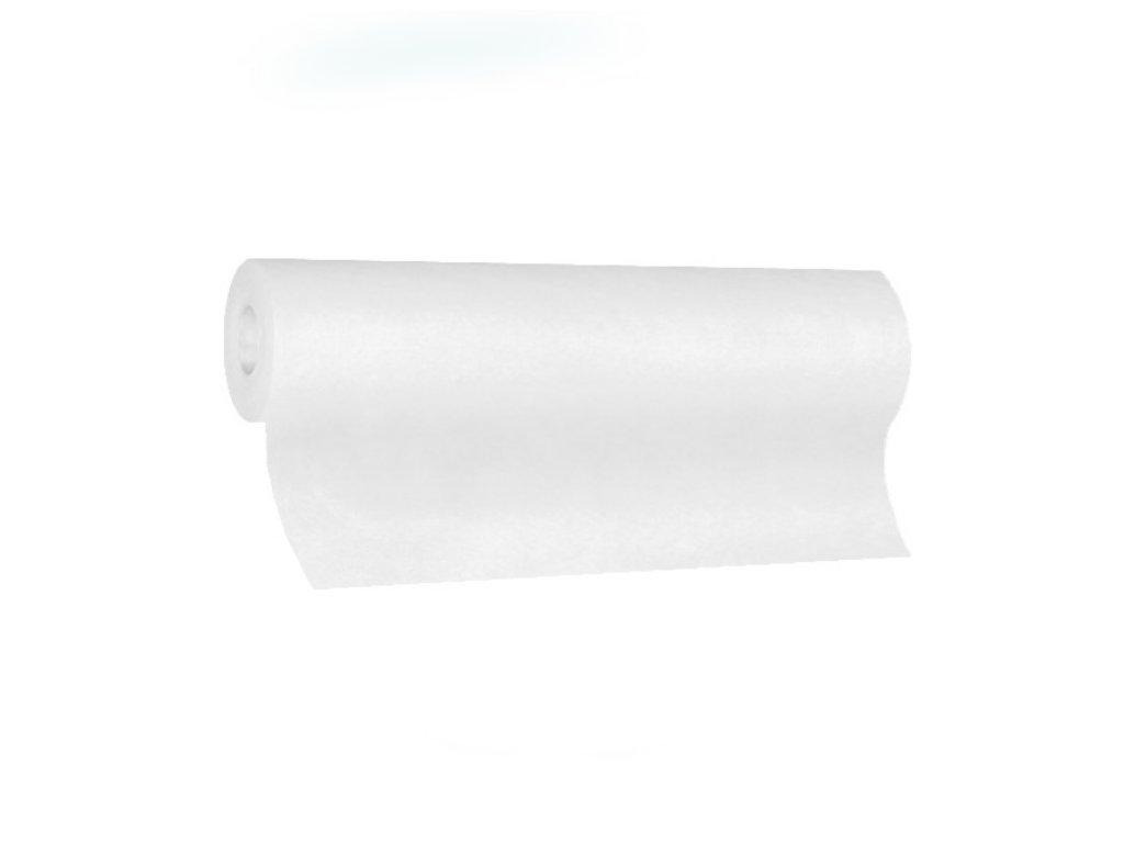 Středový pás PREMIUM 24m×40cm bílý