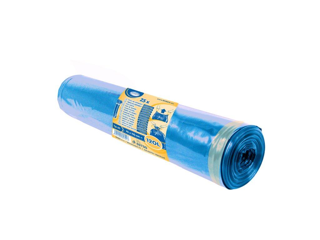 120l Pytle na odp. Zatahovací modré 70×100cm
