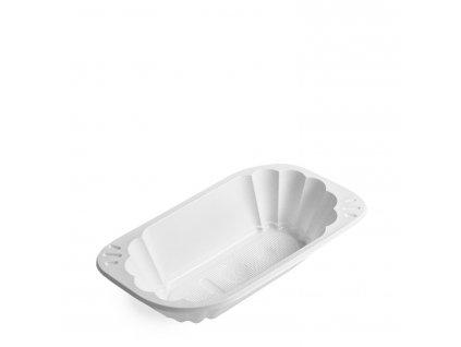 Miska oválná bílá (PP) 300ml