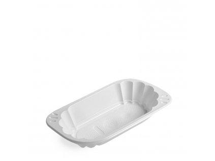 Miska oválná bílá (PP) 250ml
