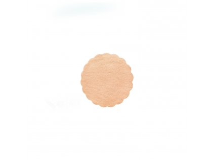 Rozetky PREMIUM Ø 9 cm apricot